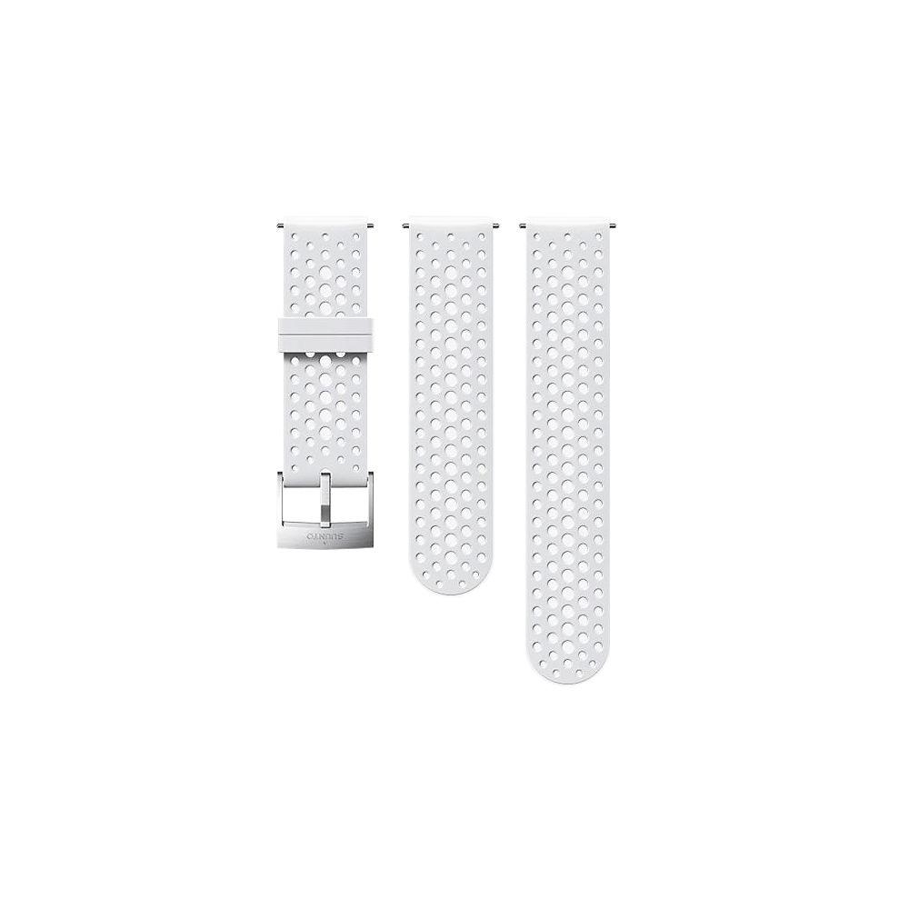 Suunto 24mm Athletic 1  Silicone Strap 2019 - Blanco, Blanco