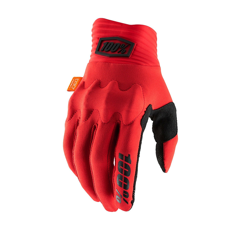 100% Cognito D30 Gloves - Red-black  Red-black
