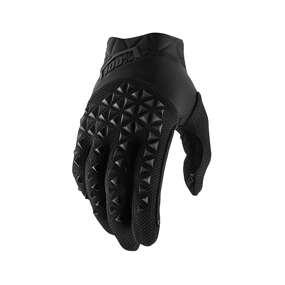 100% Airmatic Gloves - Black-charcoal  Black-charcoal