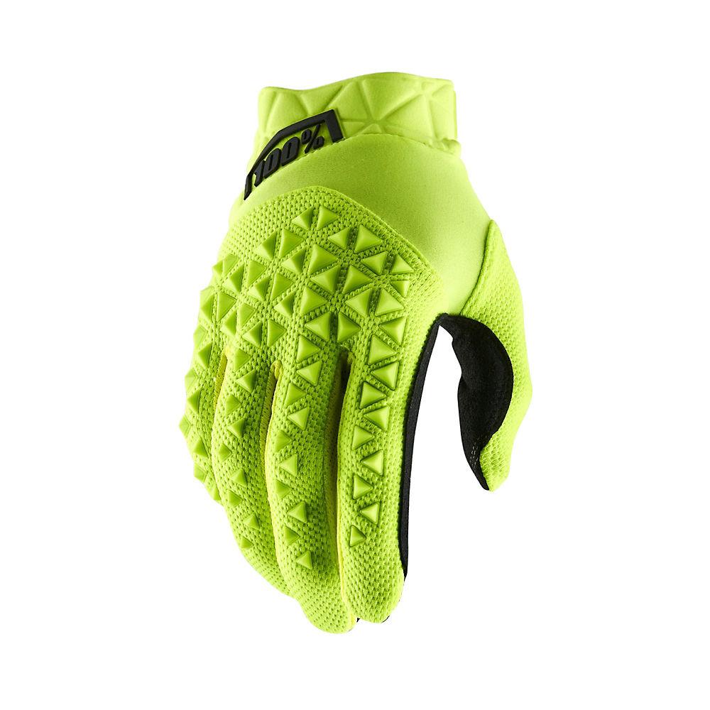 100% Airmatic Gloves - Yellow-Black - XL, Yellow-Black