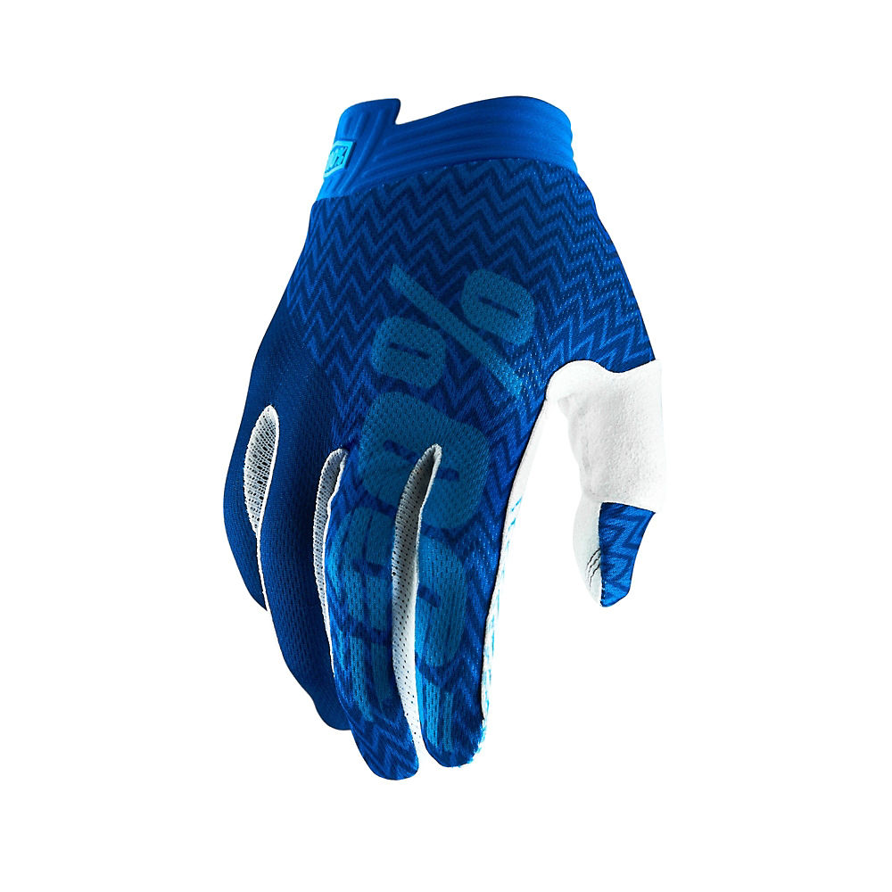 100% iTrack Gloves - Blue-Navy - XXL, Blue-Navy