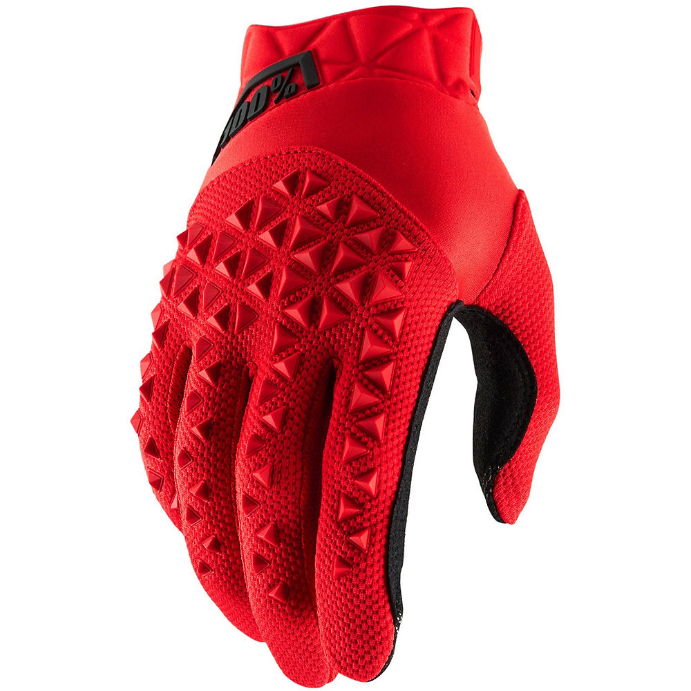 100% Youth Airmatic Gloves  - Red-Black, Red-Black