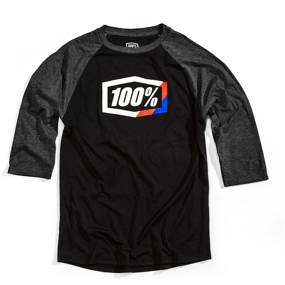 100% Stripes Tech Tee  - Black - Xl  Black
