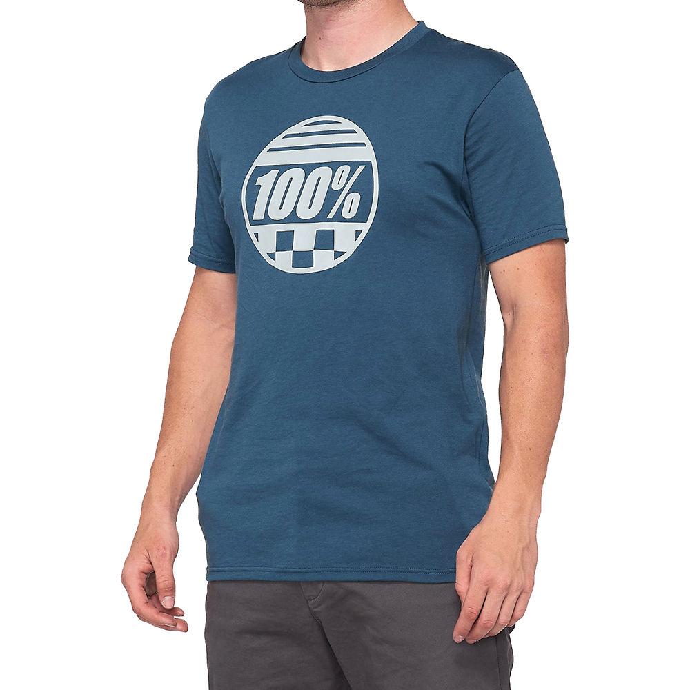 100% Sector T-shirt  - Slate Blue - M  Slate Blue