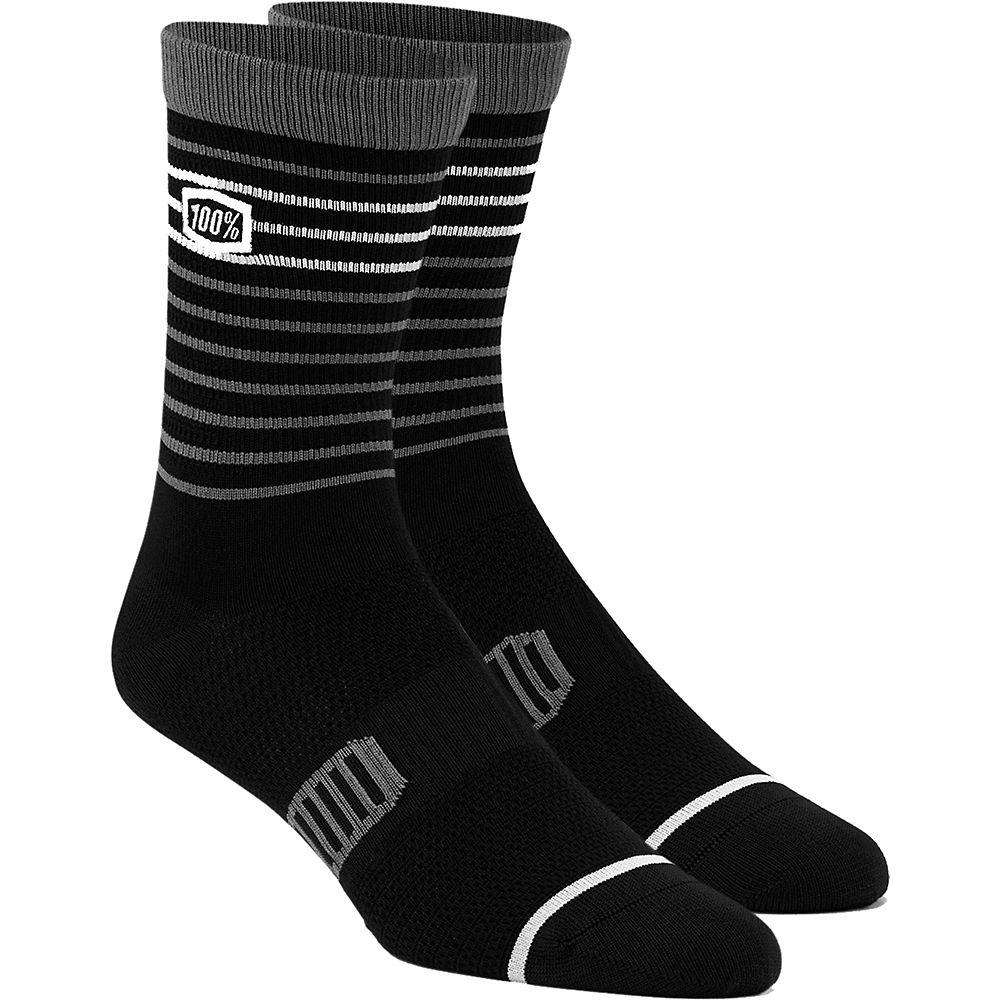 100% Advocate Performance Socks  - Black - L/XL/XXL, Black