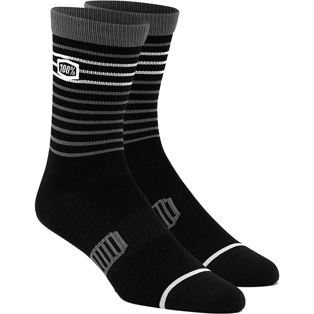 Image of 100% Advocate Performance Socks - Noir - S/M, Noir