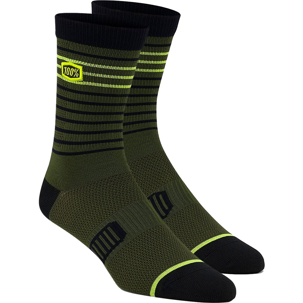 100% Advocate Performance Socks  - Fatigue - L/xl/xxl  Fatigue