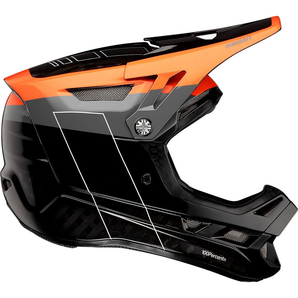 100% Aircraft Carbon MIPS Helmet  - Darkblast - XL, Darkblast