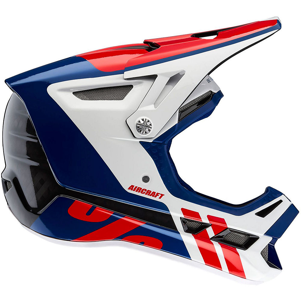 Image of 100% Aircraft Carbon MIPS Helmet - blu scuro, blu scuro