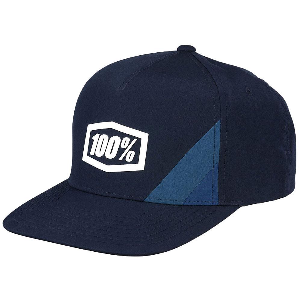 100% Cornerstone Youth Snapback Hat  - Navy - One Size, Navy