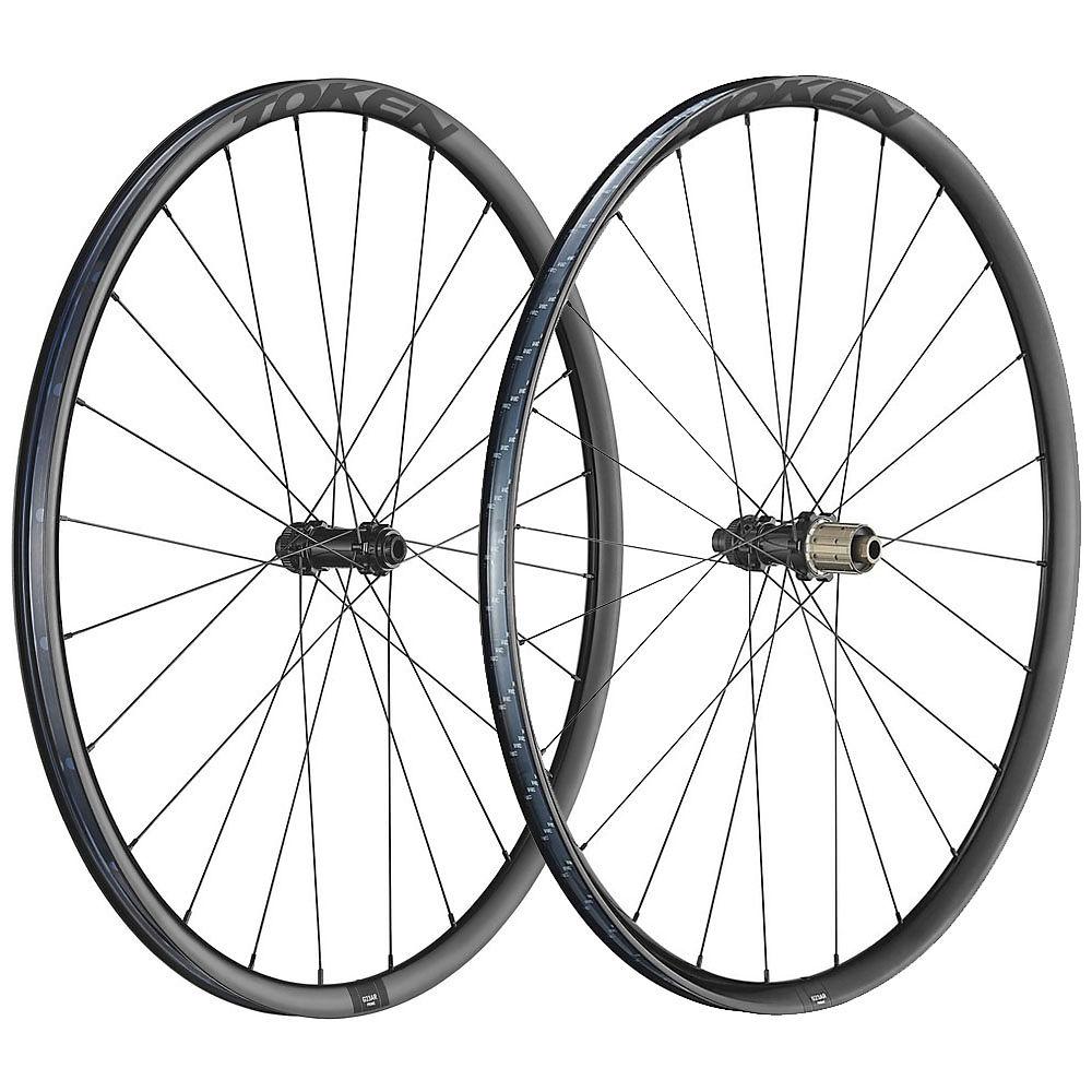 Token G23ar Disc Gravel Alloy Wheelset - Black - Shimano  Black