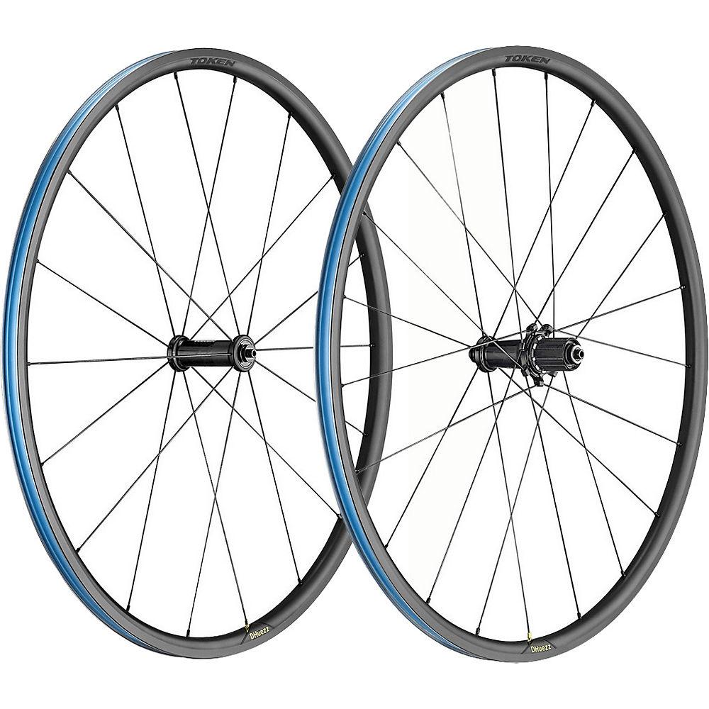Token Zenith Dheuzz Alloy Wheelset - Black - Shimano  Black