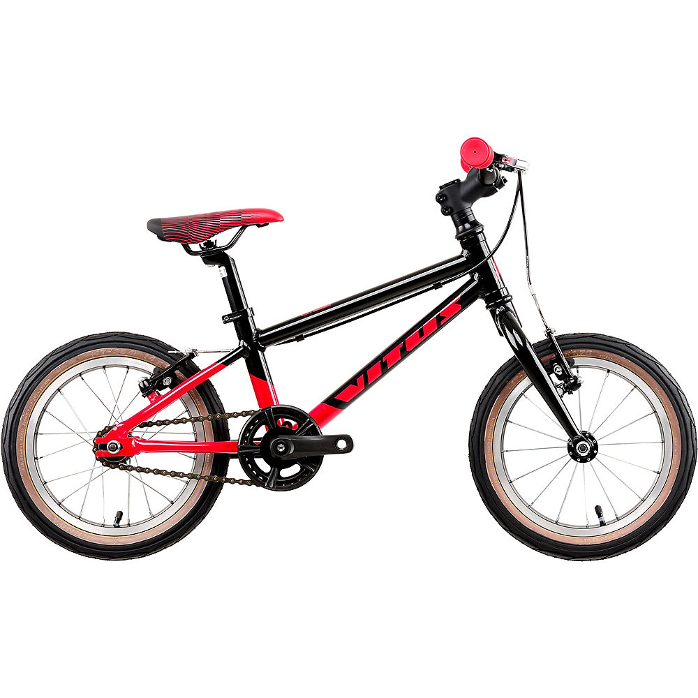 Vitus 14 Kids Bike Limited Edition 2020 – Red – Black – 14″, Red – Black
