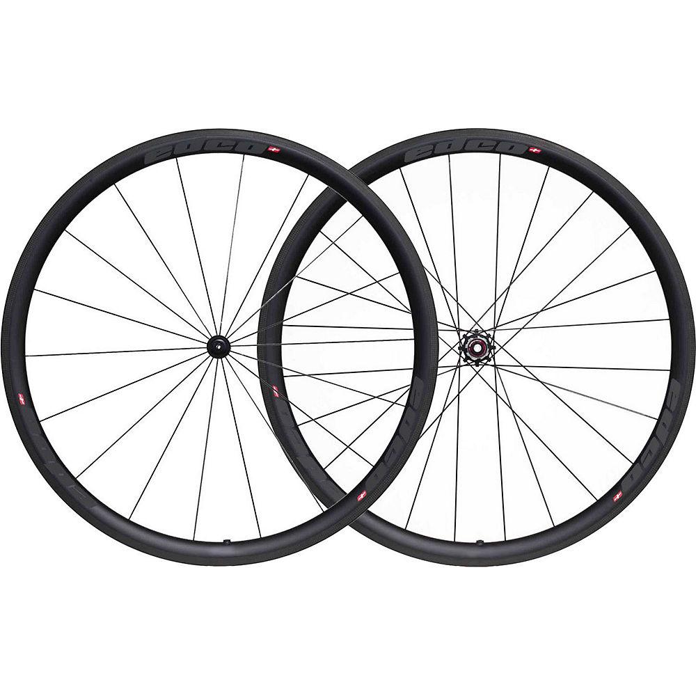 Image of Edco Prosport Pillon Wheelset - Noir - 700c, Noir