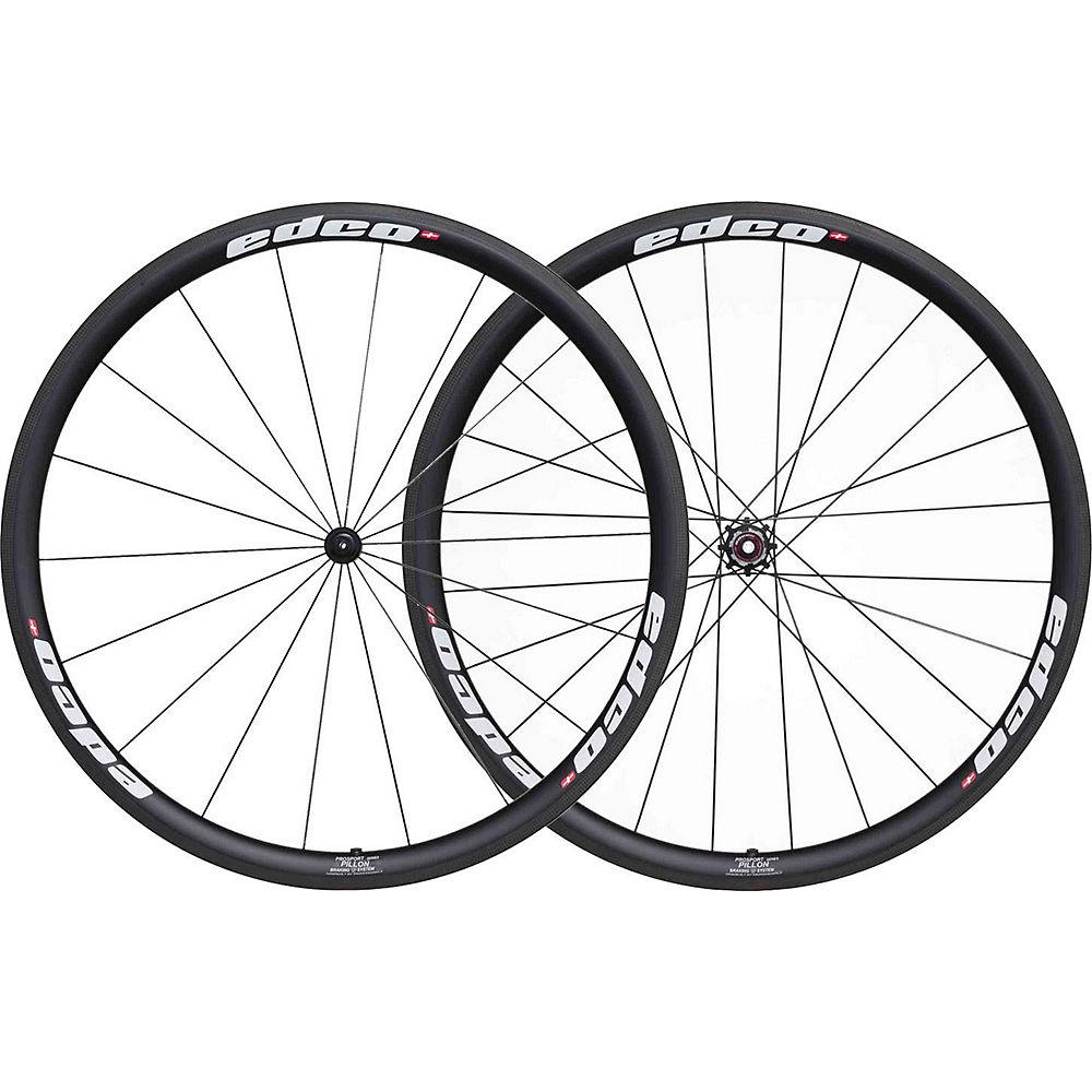 Image of Edco Prosport Pillon Wheelset - Blanc - 700c, Blanc