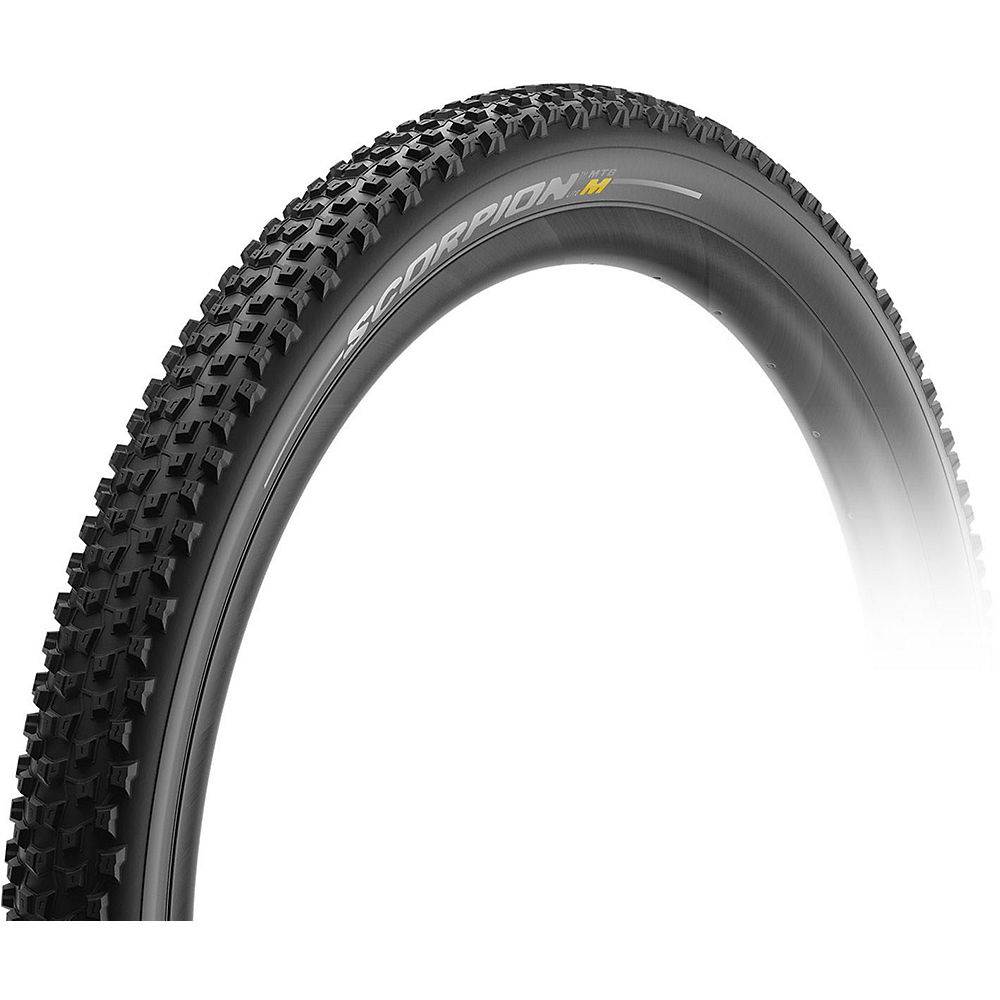 Image of Pirelli Scorpion Mixed Terrain Lite MTB Tyre - Noir - Folding Bead, Noir