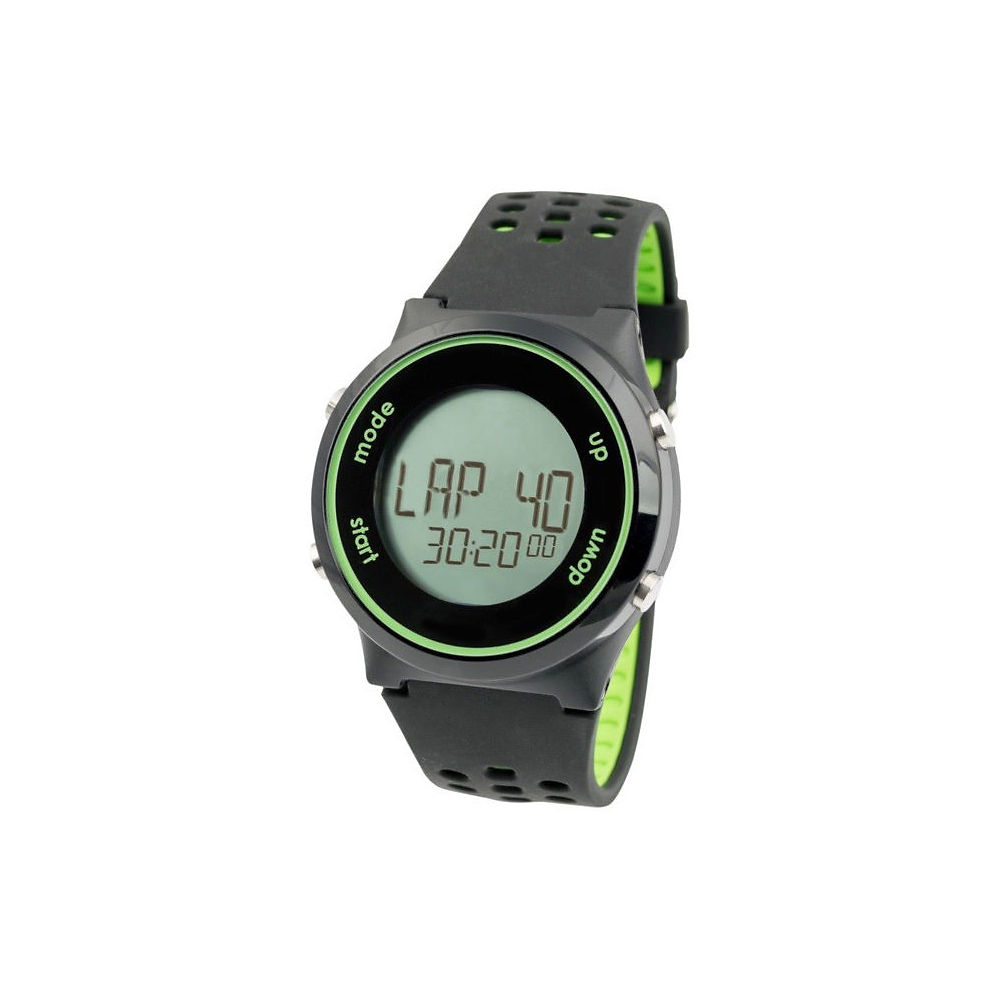 Swimovate Poolmatesport- Swim Tracking Watch 2019 - Black-lime Green  Black-lime Green