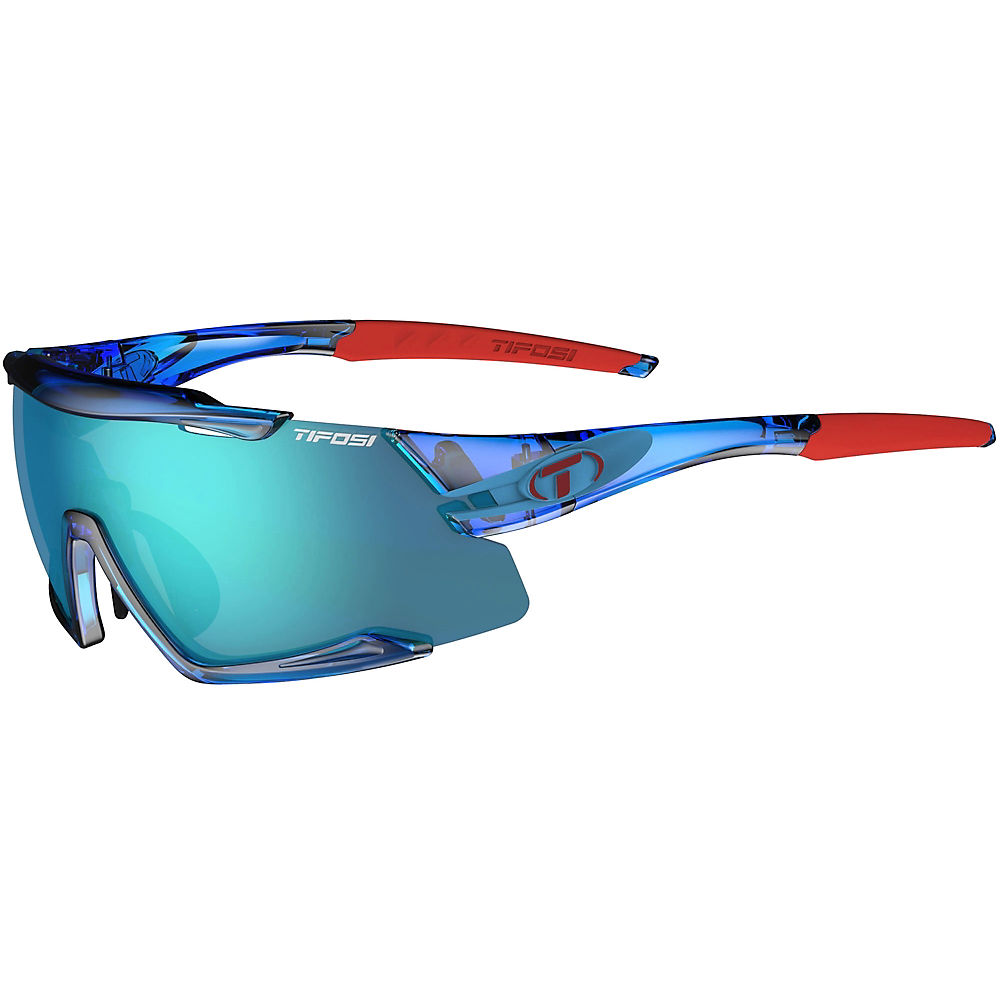 Tifosi Eyewear Aethon 3 Lens Interchangeable Sunglasses 2019 - Crystal Blue-clarion  Crystal Blue-clarion