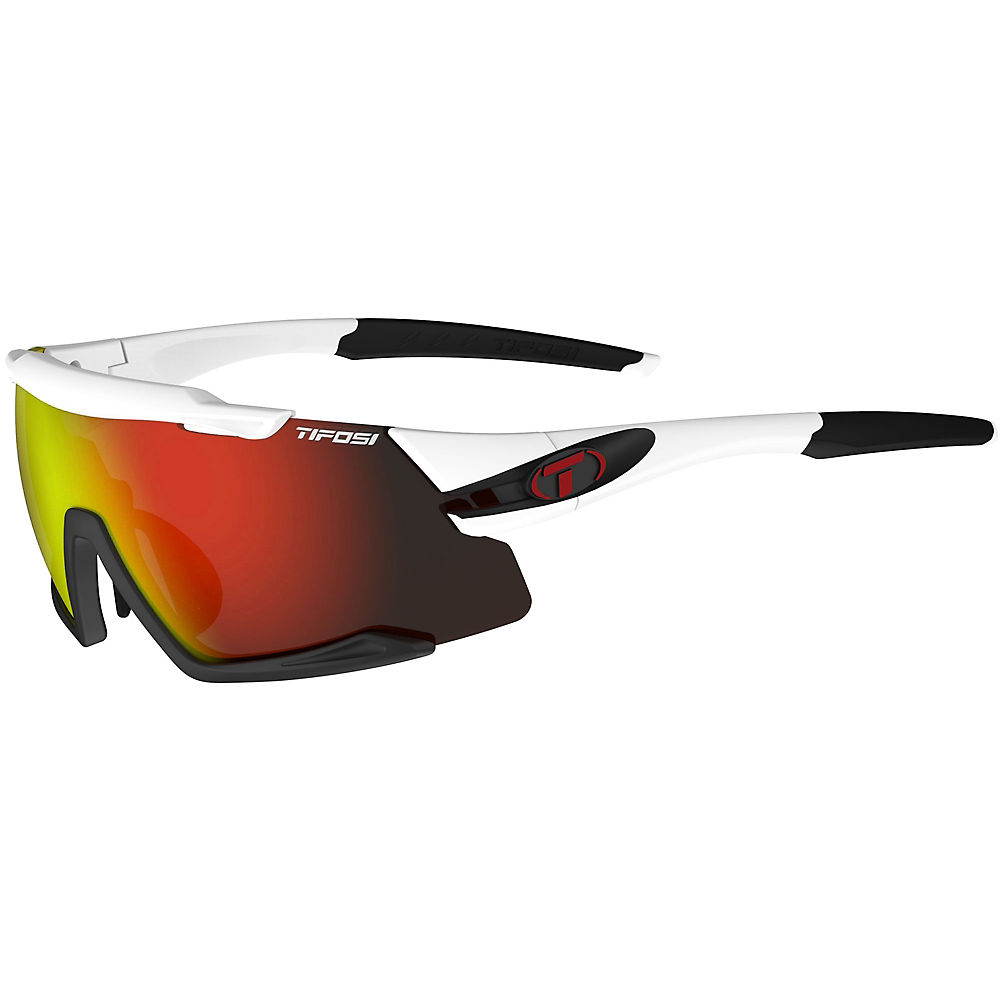 Tifosi Eyewear Aethon 3 Lens Interchangeable Sunglasses 2019 - White-black-clarion  White-black-clarion