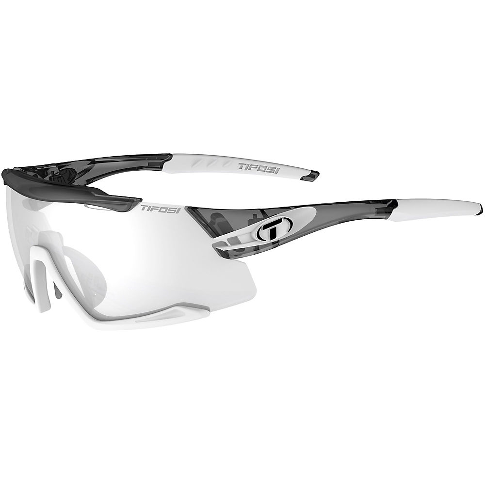 Tifosi Eyewear Aethon Fototec Night Lens Sunglasses 2019 - Crystal Smoke-white  Crystal Smoke-white