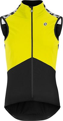 Assos MILLE GT Spring Fall Airblock Vest - Fluo Yellow, Fluo Yellow | cycling vest