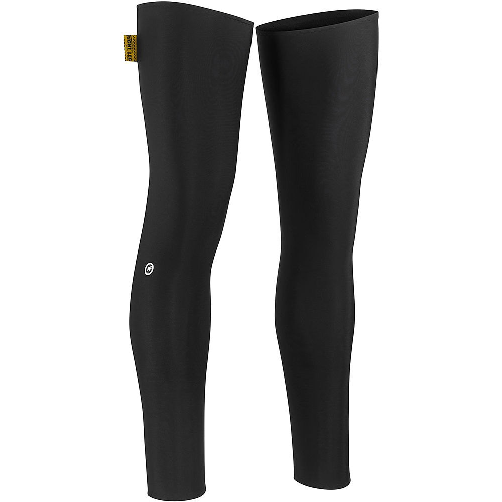 Assos Spring Fall Leg Warmers - Black Series, Black Series