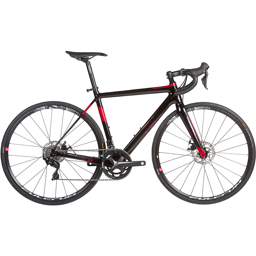 Orro Pyro Disc Evo 7000-FSA R900 Road Bike 2020 - nero - rosso - XL