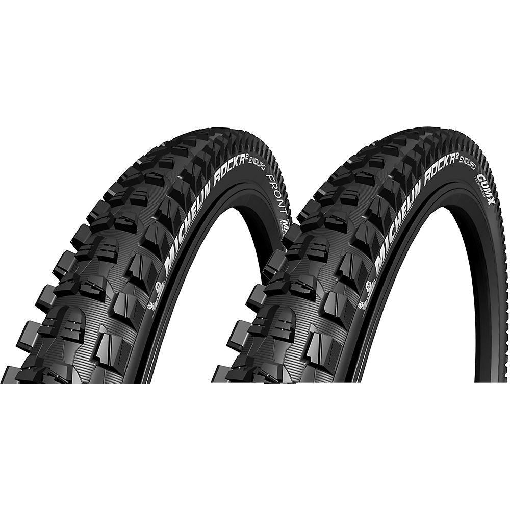 "Michelin Rock R2 Gum-X - Magi-X TS 29"" Tyres - Negro - Folding Bead, Negro"