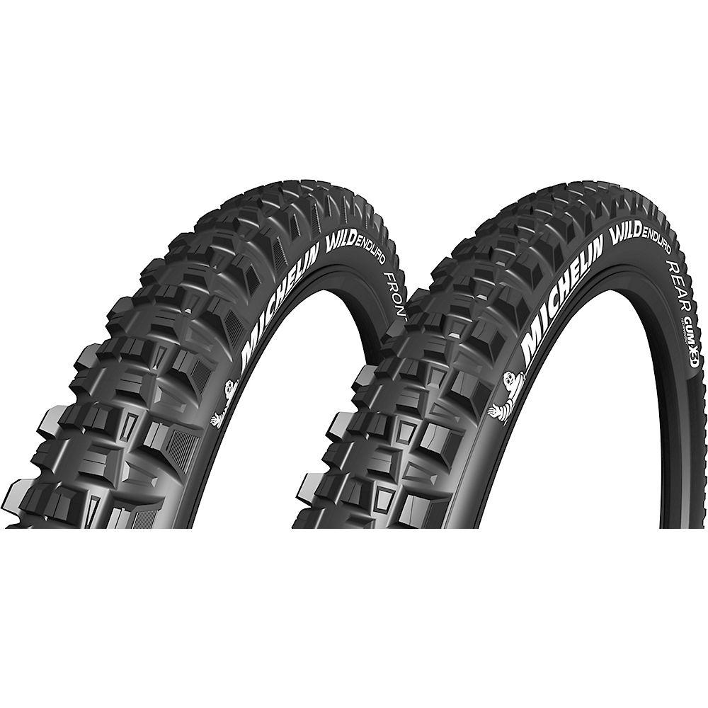 "Michelin Wild Enduro Gum-X TS 27.5"" - 2.6"" Tyres - Negro - Folding Bead, Negro"