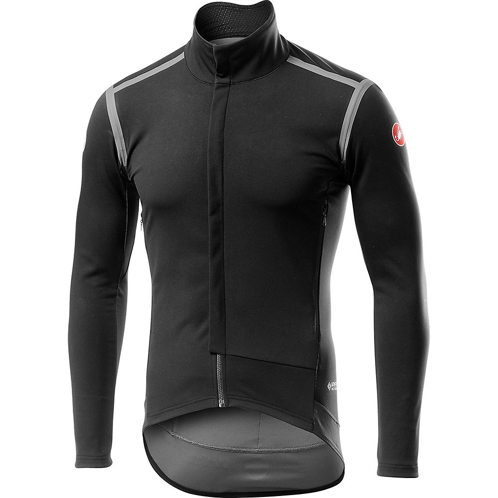Castelli Perfetto Ros Long Sleeve Jersey - Light Black  Light Black