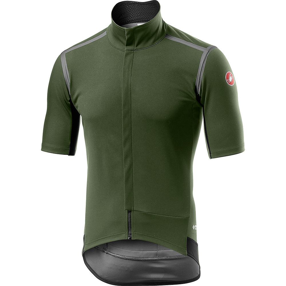 Castelli Gabba Ros Light Jersey - Military Green - Xxl  Military Green
