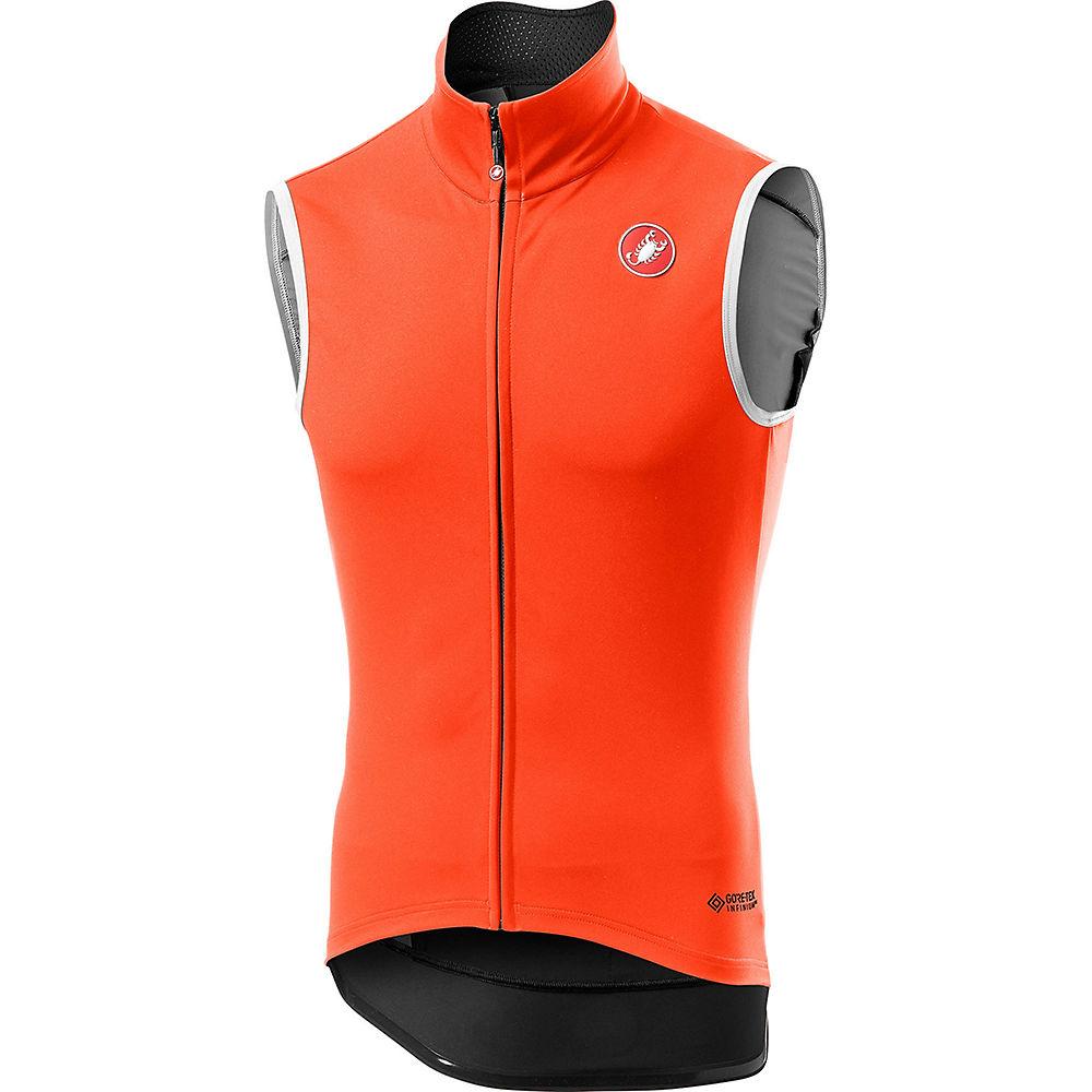 Castelli Perfetto Ros Vest Light Gilet - Orange - Xxxl  Orange