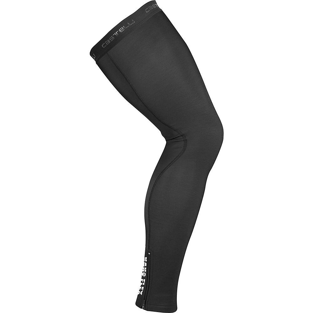 Castelli Nano Flex 3g Legwarmer - Negro, Negro