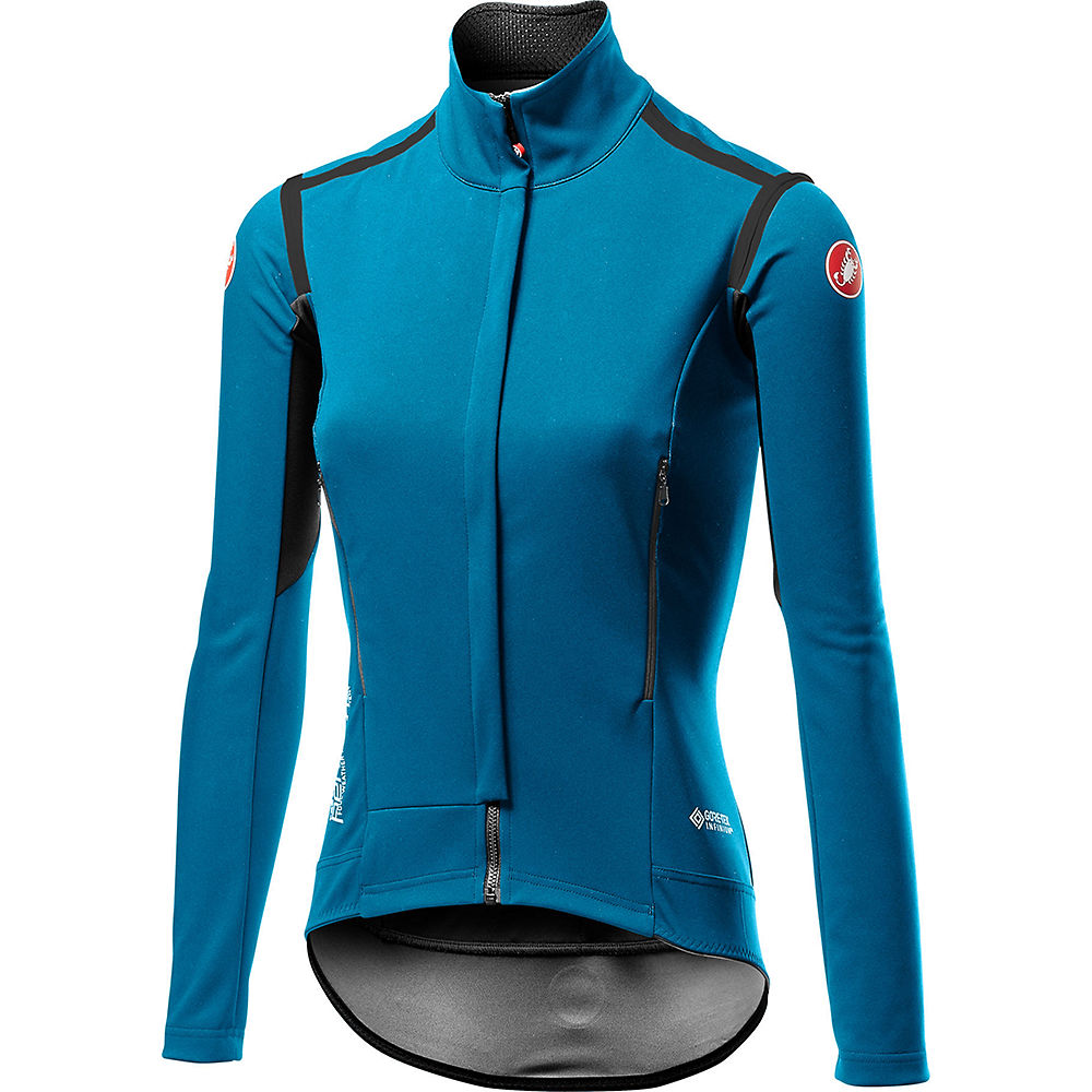 Castelli Womens Perfetto Ros Long Sleeve Jacket - Marine Blue  Marine Blue