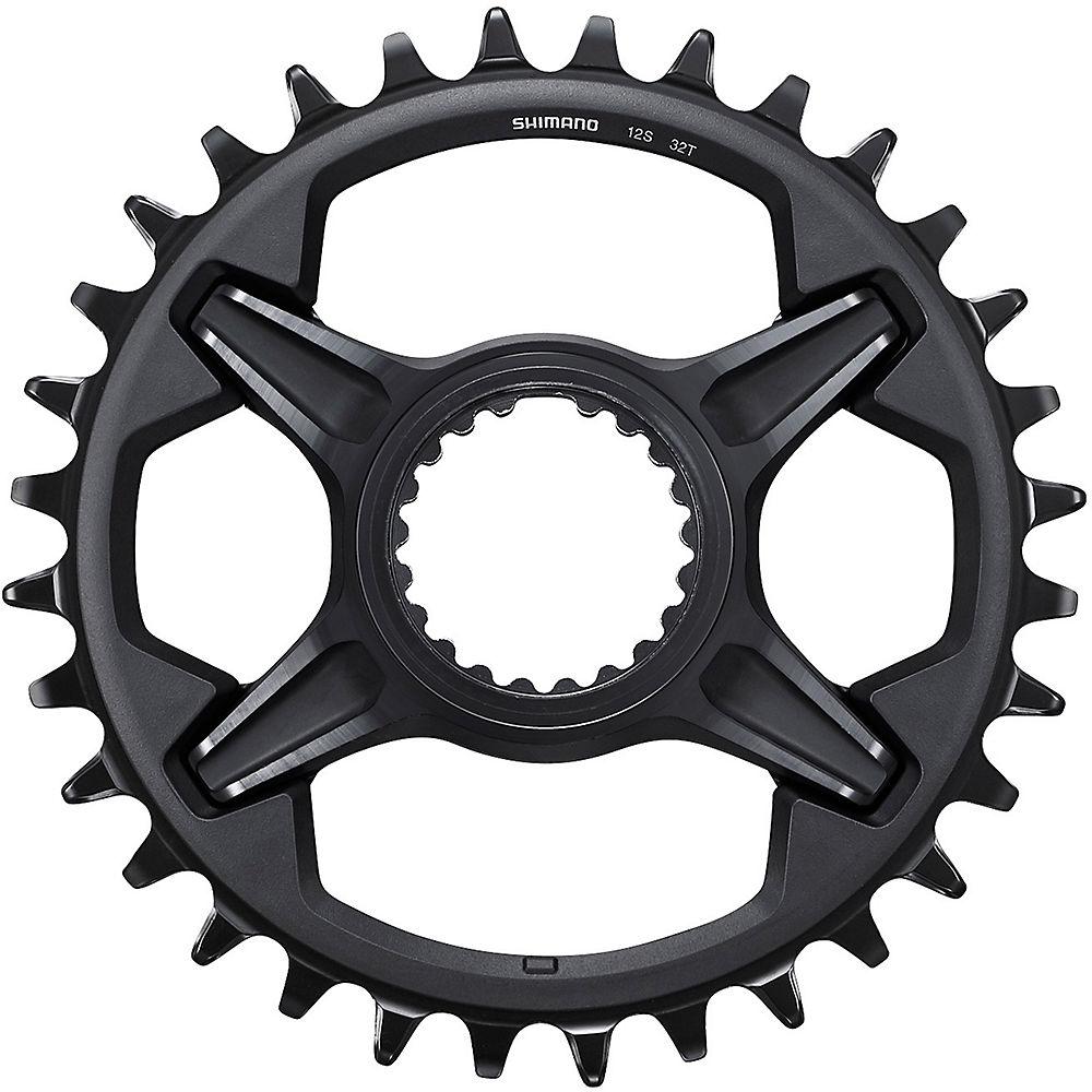 Shimano Xt M8100 12 Speed Chainring - Black - Direct Mount  Black