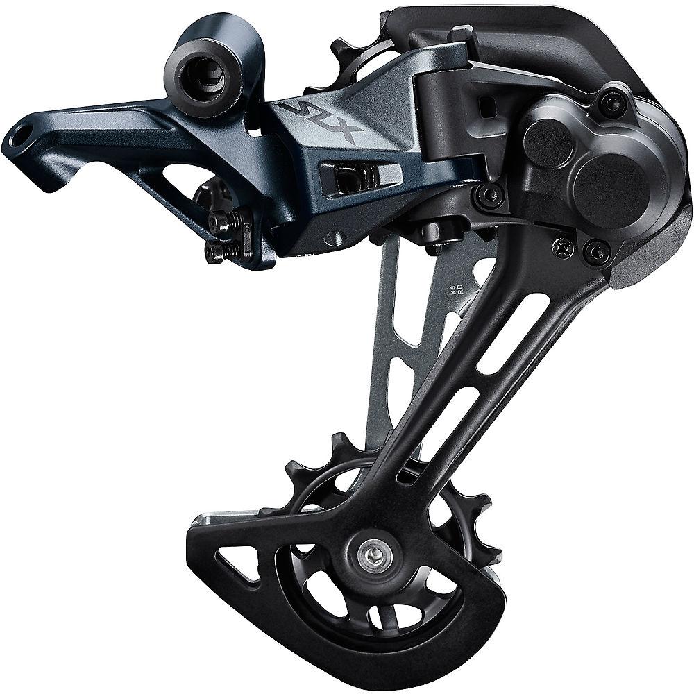Shimano SLX M7120 2x12sp Rear Derailleur - Black - Long Cage, Black