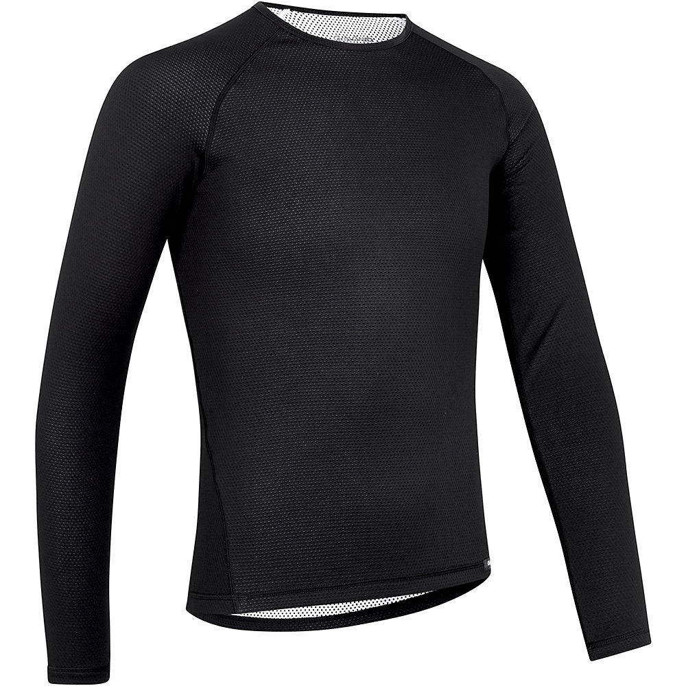 GripGrab Ride Thermal Long Sleeve Base Layer - Negro - XXL, Negro