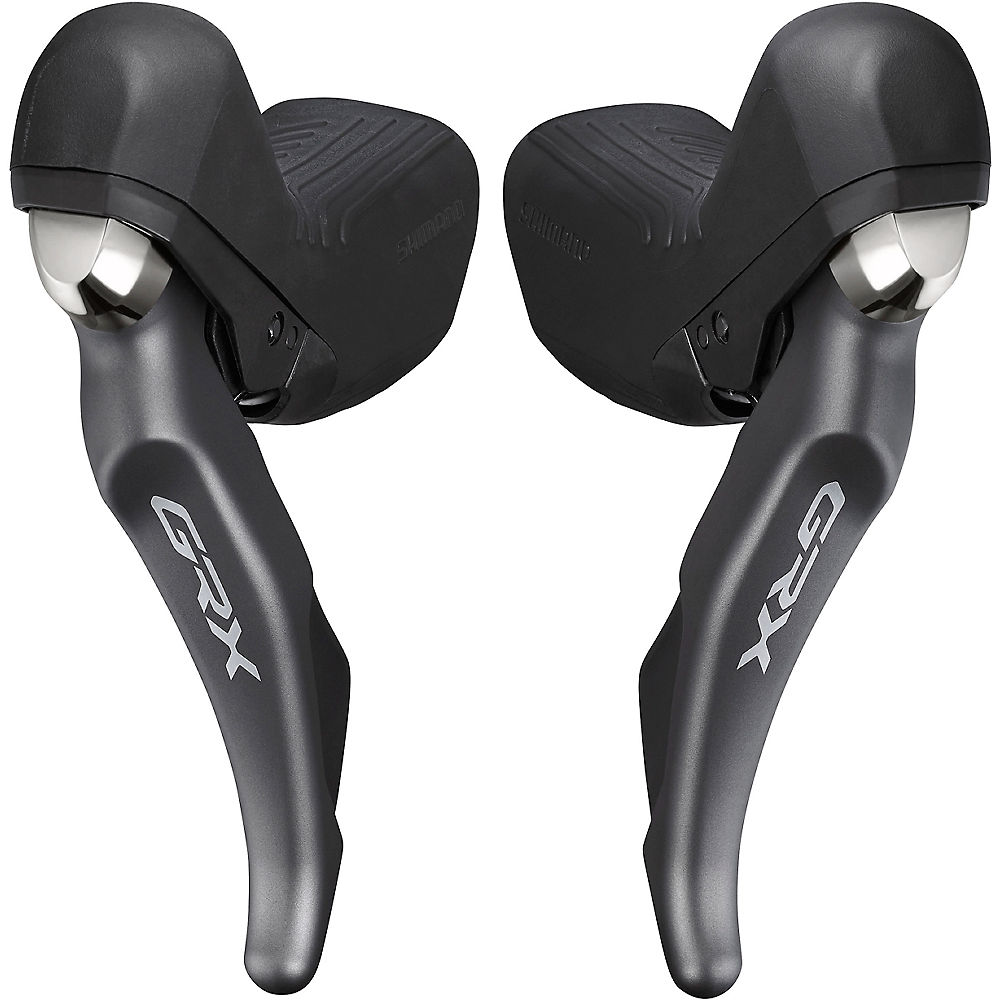 Shimano GRX 810 2x11 Speed Shifter Set - Negro - Pair, Negro