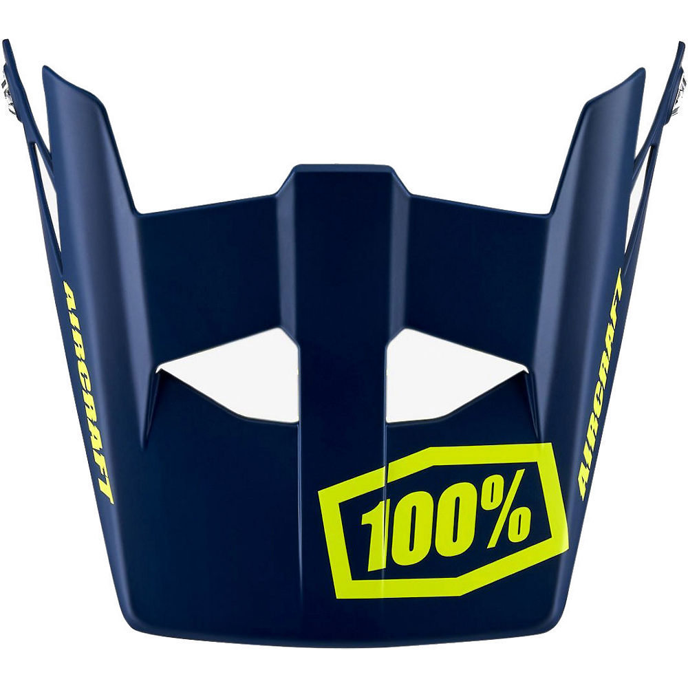 Image of 100% Aircraft Replacement Visor - blu scuro - One Size, blu scuro
