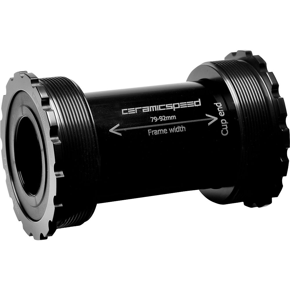 CeramicSpeed T47 SRAM DUB Bottom Bracket - Negro - 86mm - SRAM DUB, Negro