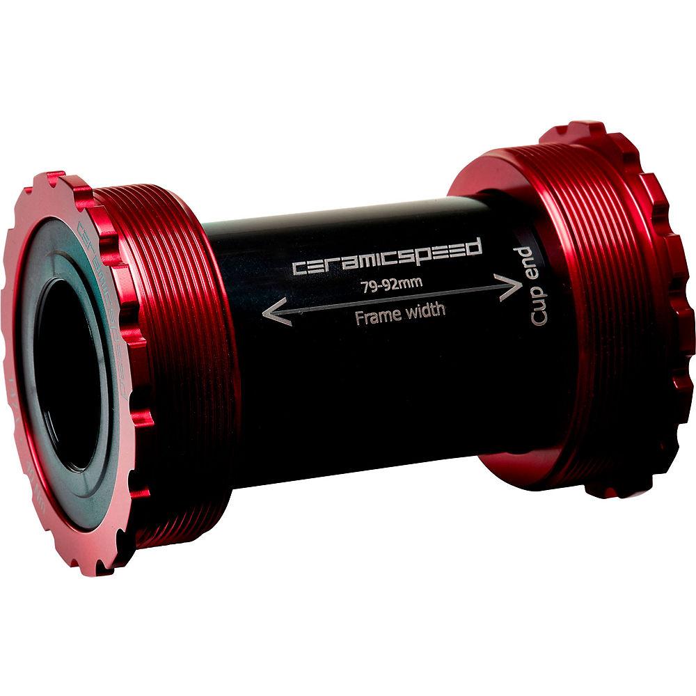 CeramicSpeed T47 SRAM DUB Bottom Bracket - Rojo - 86mm - SRAM DUB, Rojo