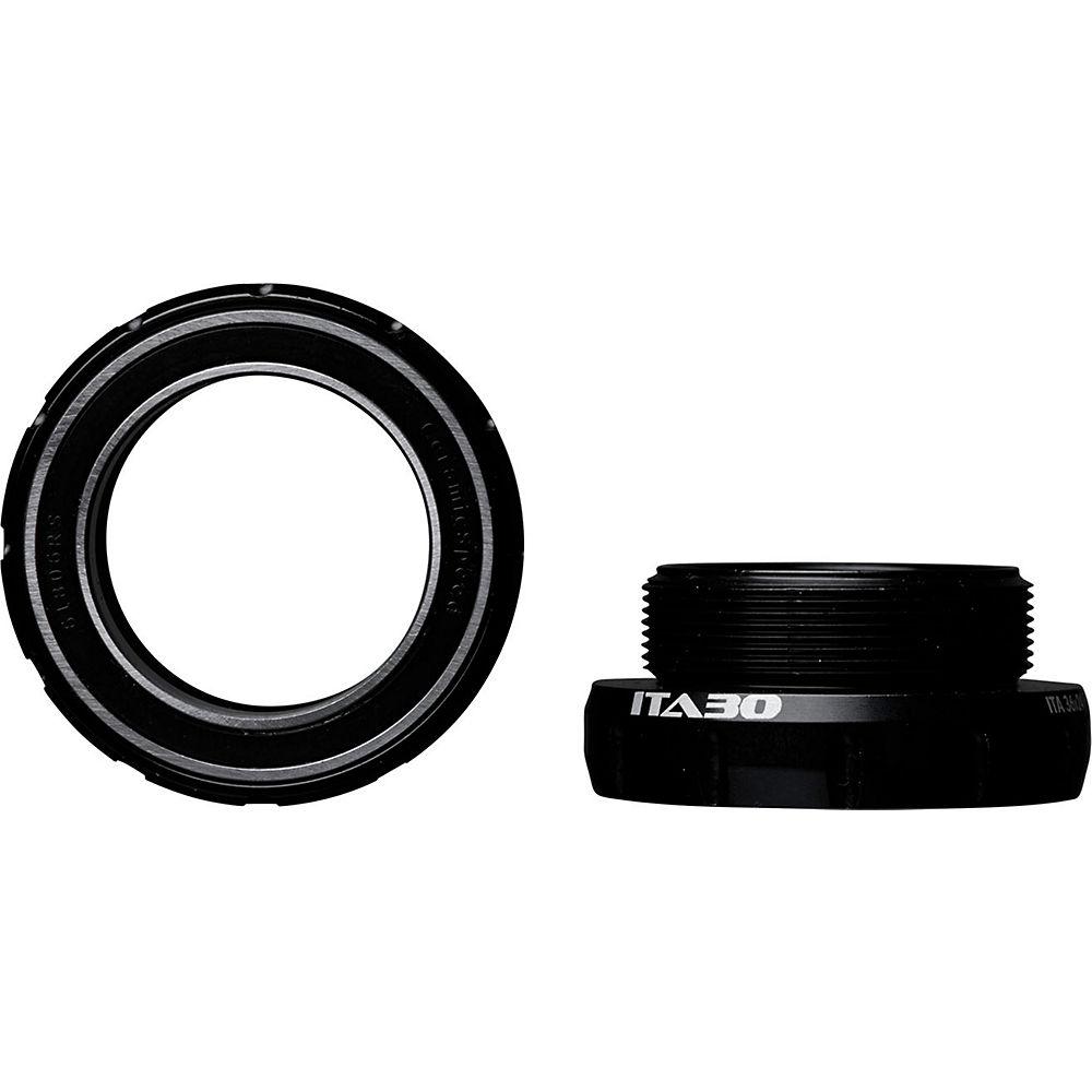 CeramicSpeed ITA30 Bottom Bracket - Negro - 70mm - Italian Thread - 30mm Spindle, Negro