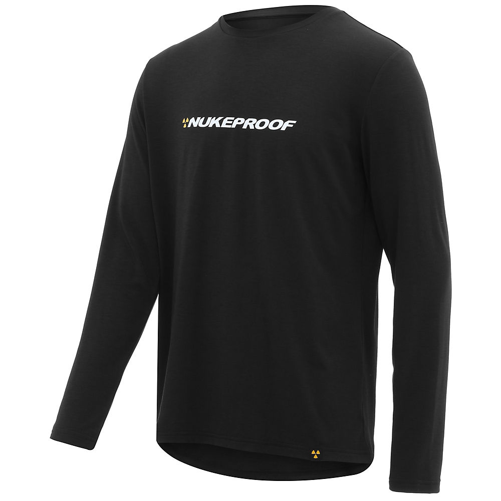Nukeproof Outland Drirelease Long Sleeve Tech Tee - Black - M  Black