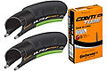 Continental Ultra Sport II Green 23c Tyres + Tubes