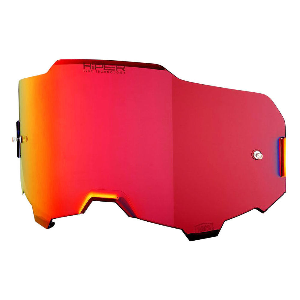 100% Armega Replacement Lens Hiper Red Mirror 2019  Red Mirror