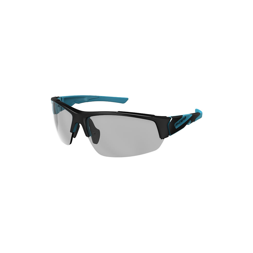 Image of Ryders Eyewear Strider Poly Clear Lens Sunglasses 2019 - Noir/Bleu, Noir/Bleu