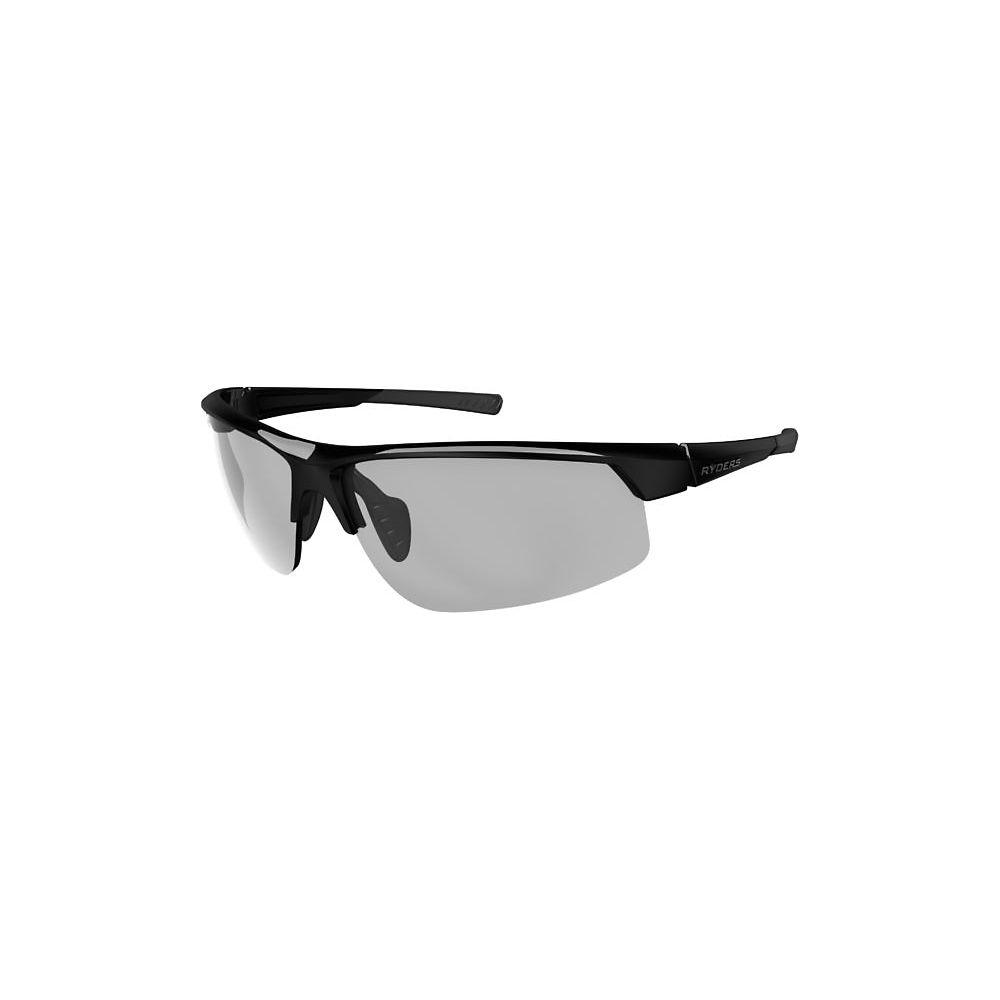 Image of Ryders Eyewear Saber Poly Clear Lens Sunglasses 2019 - Noir, Noir
