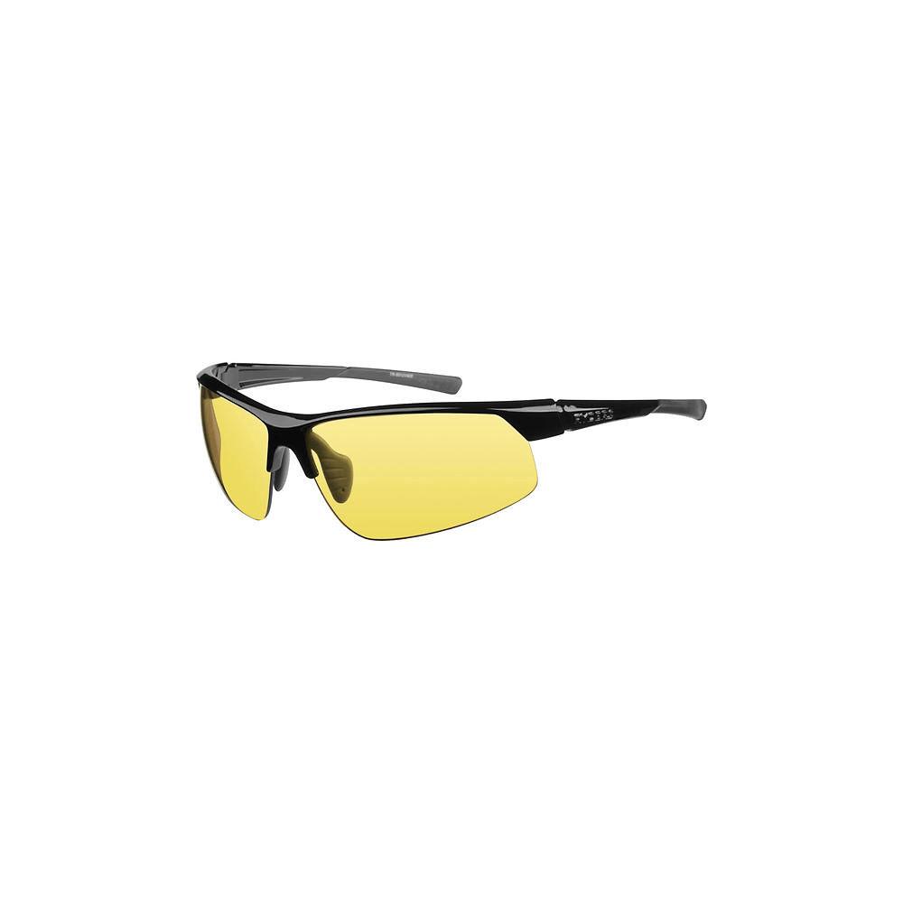 Image of Ryders Eyewear Saber Poly Black-Yellow Lens Sunglasses 2019 - Noir, Noir
