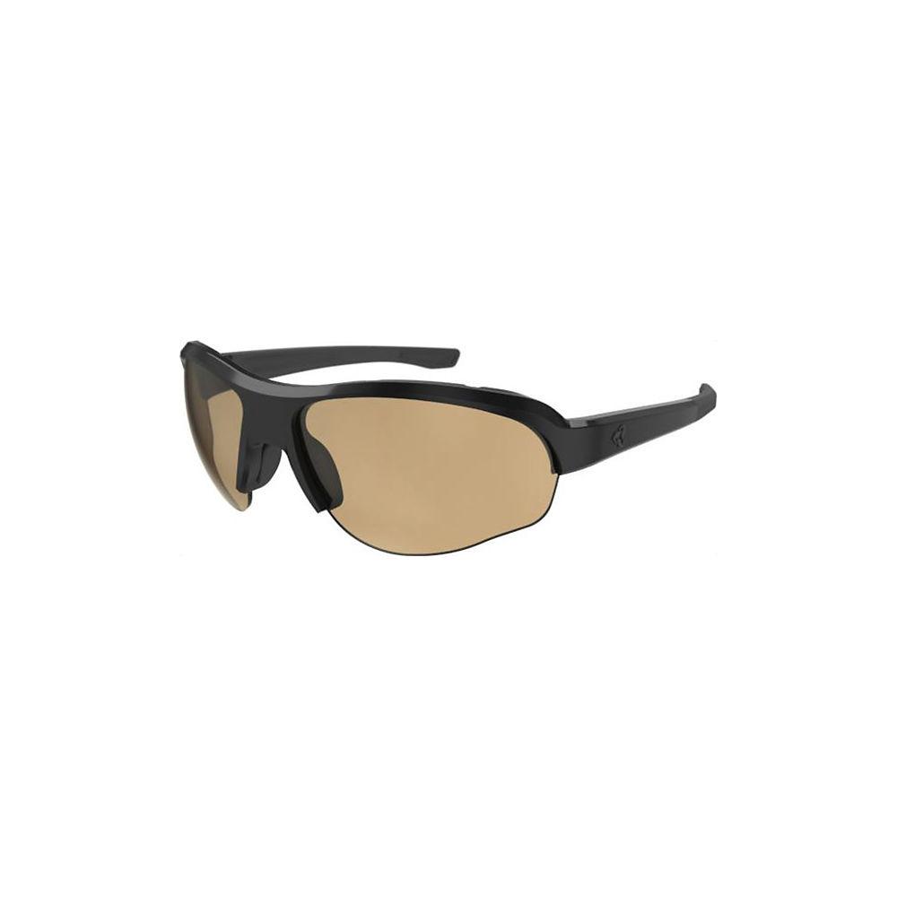Image of Ryders Eyewear Flume Photo Black Brown Lens 71%-27% 2019 - Noir, Noir