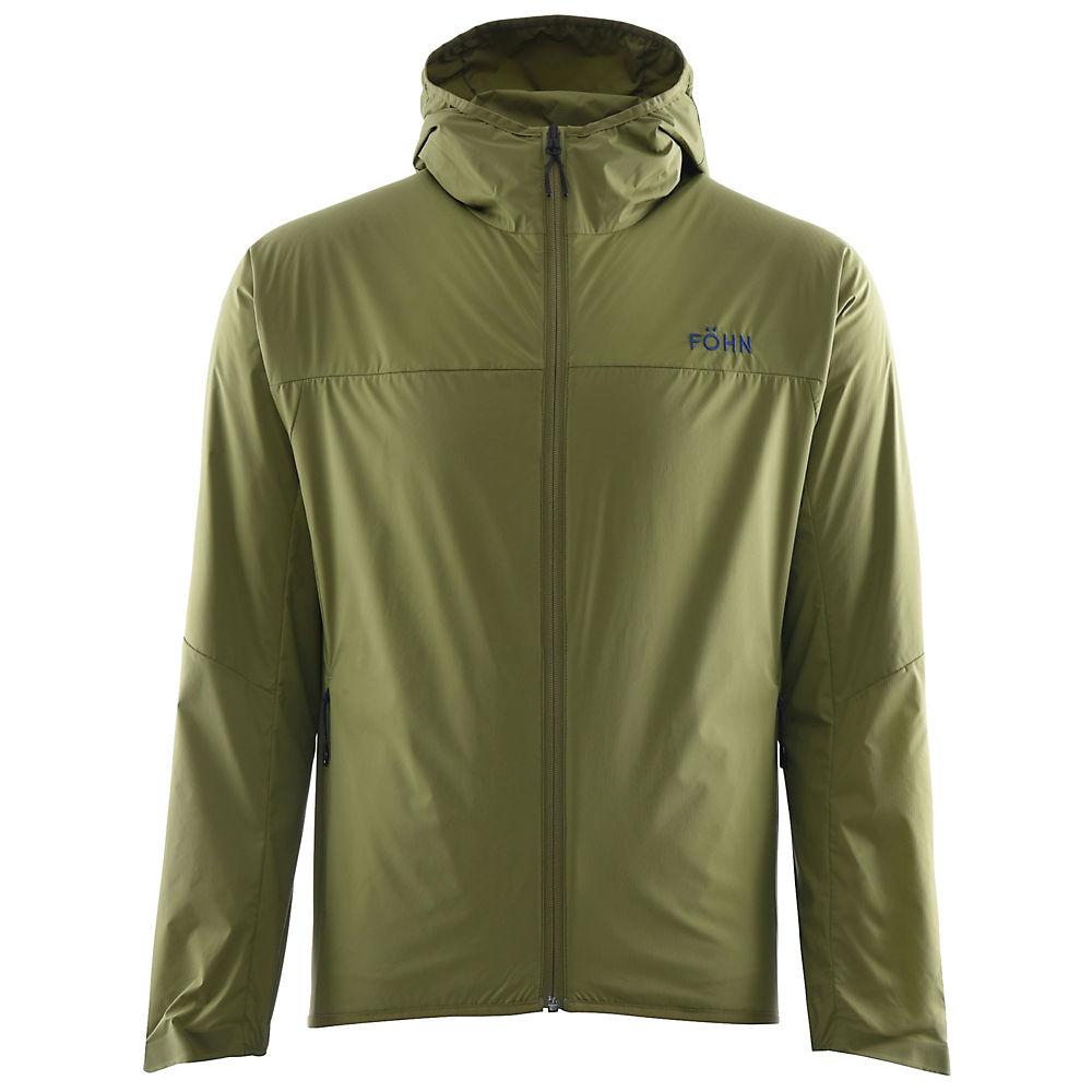 Fohn Polartec Alpha Hybrid Jacket - Green - Xl  Green
